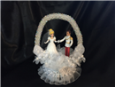 Cinderella and Prince Charming Wedding Cake Topper