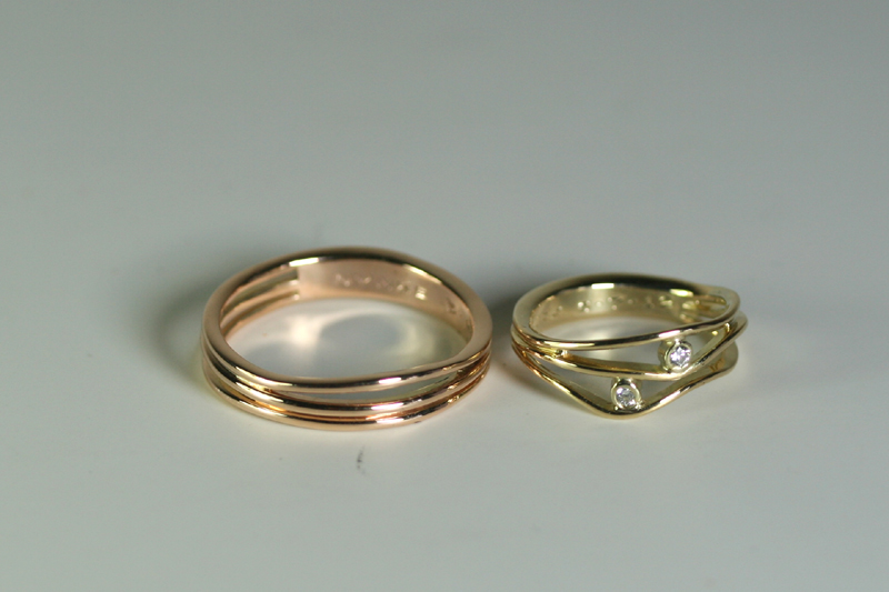 Goede Zelf je trouwringen maken. Trouw- en verlovingsringen en YA-18