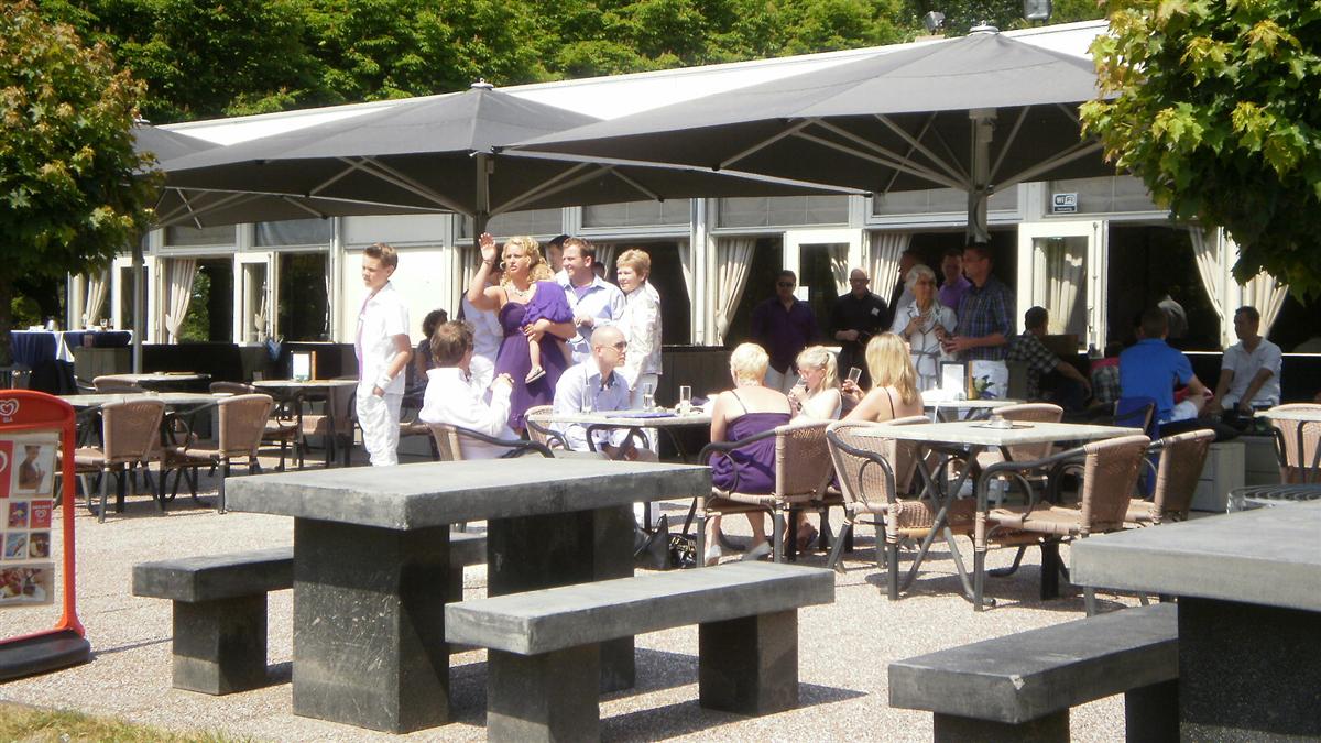Wantijpaviljoen trouwen trouwlocatie in dordrecht zuid holland for Lay outs terras van het restaurant