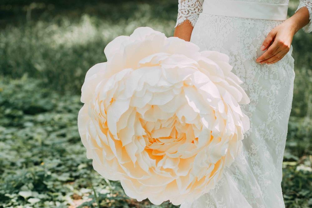kunstbloemen bruiloft